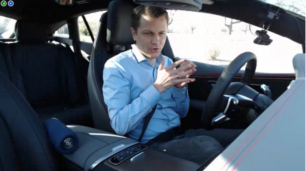 Riding along virtually with Mercedes engineer Fabian Wuttke