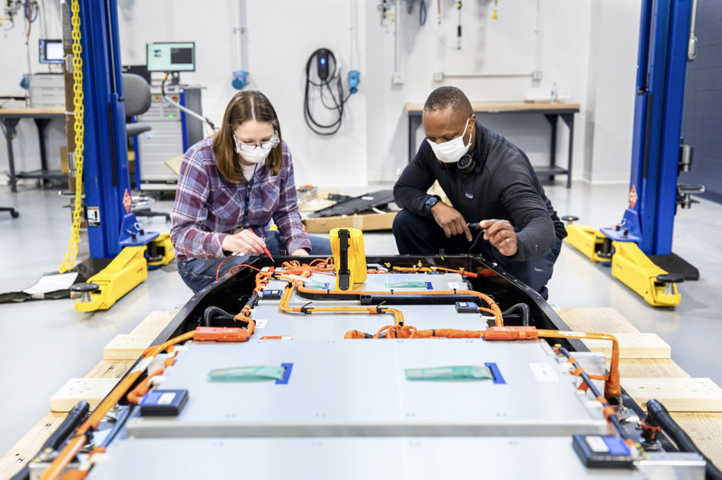 Ford Battery Benchmarking and Test Laboratory in Allen Park, Michigan