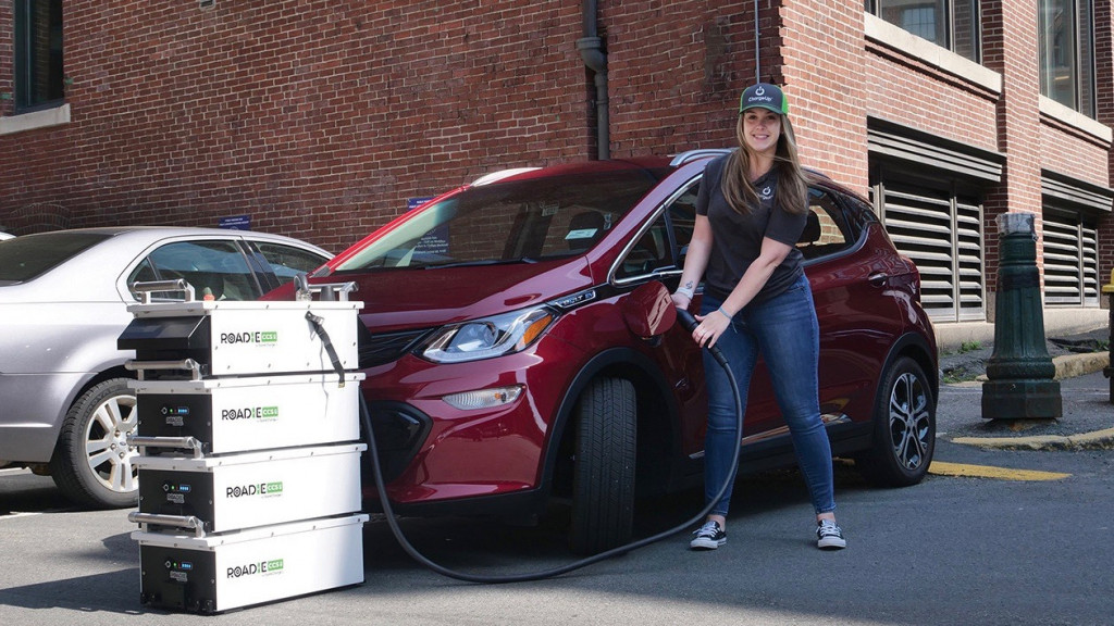 SparkCharge mobile-charging service